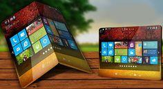 HTC presenta una tableta-smartphone plegable.