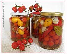 pomidorki koktajlowe marynowane na ostro