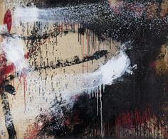 NORMAN BLUHM TIC-TAC-TOE Signed Lower Left Oil on paper mounted on board 29 1/4 x 35 3/4 in. (36 x 45 in. framed) 1961