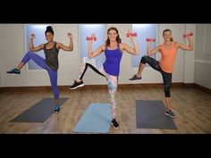Day 15: 30-Minute Fat-Burning Pilates Workout | Class FitSugar - YouTube