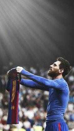 ... y la luz celestial se hizo presente. D10S Messi