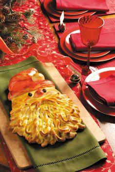 How to Make Santa Bread