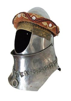 Armour Illustrations: Bascinet and Hounskull visor for The battle of Shrewsbury painting. Medieval Helmets, Medieval Armor, Medieval Fantasy, Armor All, Arm Armor, Ancient Armor, Armor Clothing, Knight Armor, Historical Artifacts