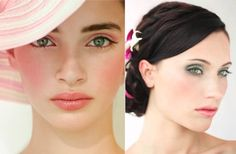 Bridal makeup : pretty in pink