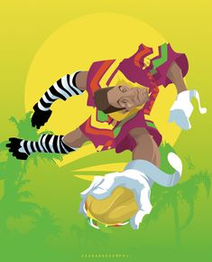 Jorge Campos, il portiere colorato.