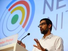 Sundar Pichai sees future in the Google Cloud Products - The Economic Times