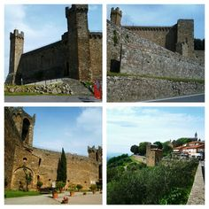 Not maremma but just over the Amiata in Val d'Orcia very close Montalcino #castles #wine