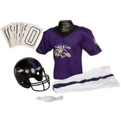 Franklin Sports NFL Deluxe Uniform Set, Size: Small