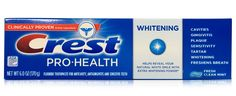 Crest Pro-Health Toothpaste Fluoride Whitening Fresh Clean Mint - 6.0oz tube  #buythecase #toothpaste