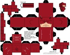 cubeecraft daredevil - Google Search