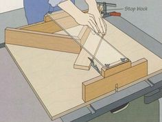 Build A Miter Jig For The Table Saw