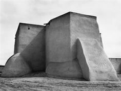 Saint Francis Church by Ansel Adams