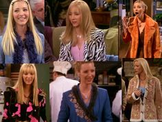 I love everything about Phoebe--her hair, eccentric style & personality. Phoebe is Fabulous!