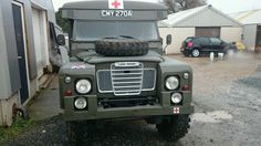 Land Rover Ambulance 109  *New MOT* Ex Army 1963 (A) Tax exempt,  Camper?