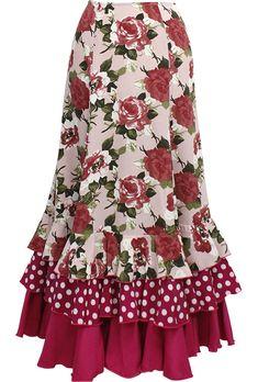 Flamenco Skirt, Gypsy Costume, Look Fashion, Fashion Design, Mom Dress, Spring Summer Trends, Abaya Fashion, Carolina Herrera, Designer Dresses