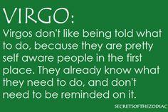 THE WORLD OF ASTROLOGY: Virgo