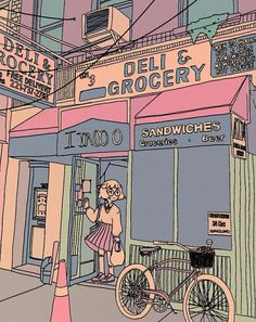 Deli & Grocery by Luxjii - http://luxjii.tumblr.com/post/150571737124/deli-grocery