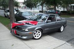 Nissan Sentra, B13 Nissan, Jdm, Japan, Speaker Plans, Modified Cars, Sweet Treats, Japanese Dishes, Japanese Domestic Market