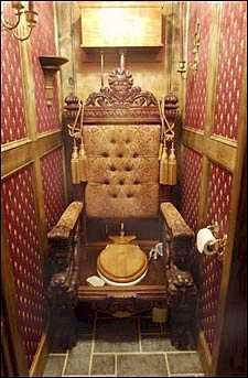 The throne. New-ish meaning, toilet