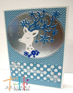 Tutti Designs: Blue Christmas Wishes
