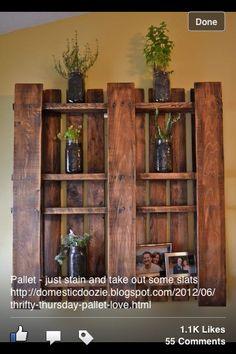 Pallet shelves :)
