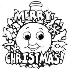 Pinterest the world s catalog of ideas for Thomas the train christmas coloring pages