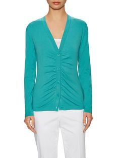 Button Front Cardigan by Lafayette 148 New York at Gilt