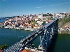 OneWorld: Hello World! Saúde Porto! U Bahn, Dom, Water, Outdoor, Porto, Bad Dreams, Port Wine, Colorful Houses, Lisbon