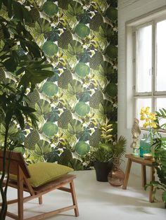 7 modern wallpaper trends to try now Wallpaper Online, Wallpaper Decor, Modern Wallpaper, Fabric Wallpaper, Designer Wallpaper, Pantone, Botanical Wallpaper, Poster S, Home Upgrades