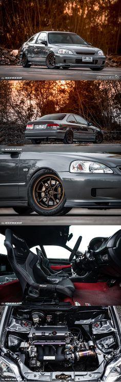 1999 Honda Civic, Civic Jdm, Honda Civic Coupe, Honda Civic Hatchback, Honda S2000, Street Racing Cars, Auto Racing, Honda Cars, Japan Cars