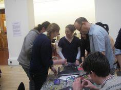Our Director Sophie Unwin gave a talk at the Edinburgh University School of Art.