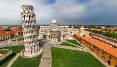 Pisa, Italia. Foto: Airpano.ru