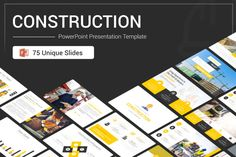 A complete set of modern and best Construction slides, Construction PowerPoint Presentation Template is designed by SlideOne team professionally to suit all disciplines in the field of modern construction, whether you are an engineer or a worker...