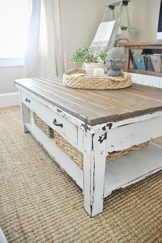 Coffee Table Makeover Part One Diy Ideas Coffee Table Makeover