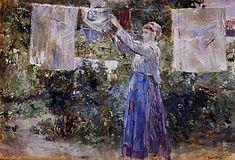 Julie Manet, Ile De Wight, Berthe Morisot, Pierre Auguste Renoir, Portrait, Oeuvre D'art, Copenhagen, Hanging Out, Painting