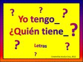 I have, Who has? SPANISH (Yo tengo, Quien tiene?) product from Cruzin-through-School on TeachersNotebook.com