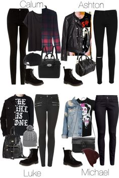 5SOS Styles: Velvet Dr. Martens by fivesecondsofinspiration featuring a black moto jacket