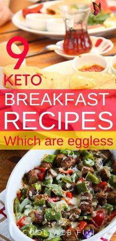 Keto Breakfast Ideas: 9 Low Carb NO EGGS Keto Breakfast - Cool Web Fun  <br> Keto breakfast ideas: Yes this is possible to have some lovely and delicious recipes on keto breakfast no eggs. You can start a keto diet with completely avoiding eggs if you are bored with all keto egg breakfasts.