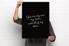 Sizeable/Printable Art EE Cummings You Are My by BrightAndBonny
