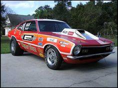 1970 Pro Stock Cars | S219 1970 Ford Maverick 427 SOHC Dyno Don Nicholson Pro Stock Car ...