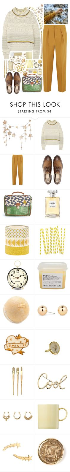 """Без названия #420"" by pepsichild ❤ liked on Polyvore featuring Chloé, Issa, Pull&Bear, Chanel, My Little Day, Newgate, Davines, Principles by Ben de Lisi, Lanvin and Charlotte Russe"