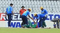 Bangladesh cricketer Shuvo stable after head injury