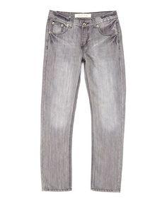 Look what I found on #zulily! Gray Denim Jeans #zulilyfinds