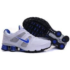 hot sale online 86d5e b71c5 ... www.asneakers4u.com 407266 022 Nike Shox Turbo 11 White Blue J14019 .  ...