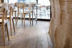 Curved and straight engineered wood floors not Bolefloor or Curv8