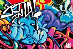 Blog do Skatista: Grafite 3d é arte na pista