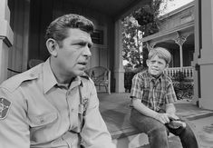 The Andy Griffith Show--Opie with a black eye--