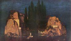 "Arnold Böcklin (Swiss 1827–1901) [Symbolism] Isle of the Dead: ""New York"" version, 1880."