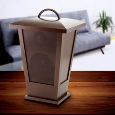 Lights, sound, and great looks - what more could you ask for in a handy Bluetooth speaker lantern? This cool light-up lantern features LED lights that sparkle and speakers that will play the music fro