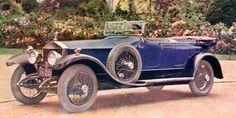 Rolls-Royce Open Tourer by Barker 1924.